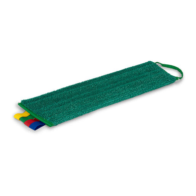 GREENSPEED TWIST FLAT MOP FRINGE GREEN 45CM - WET & DRY USE