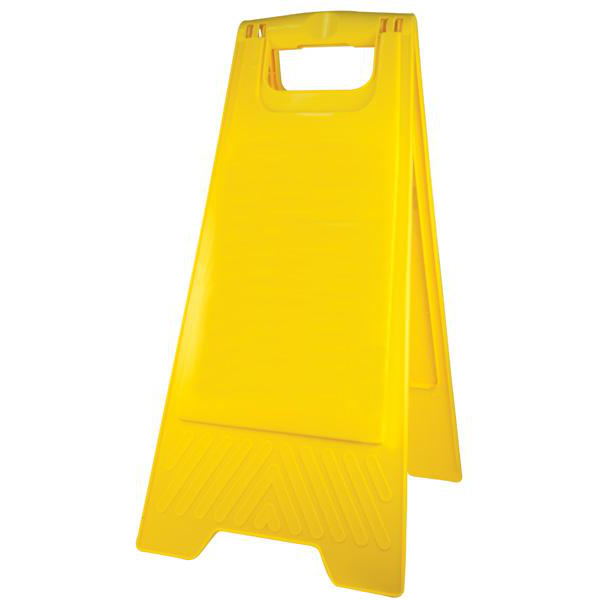 GALA A-FRAME SAFETY SIGN - BLANK YELLOW