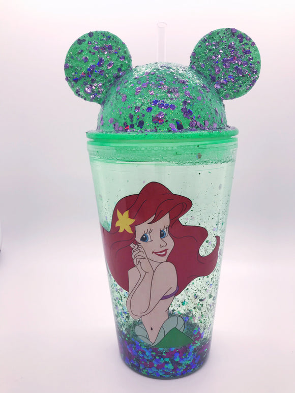 Snowglobe Mouse Tumblers