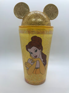 Beauty Mouse Snowglobe Tumbler
