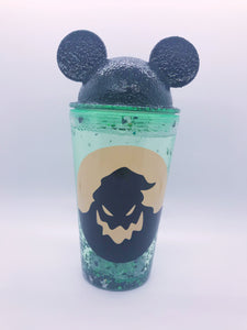 Oogie Mouse Snowglobe tumbler