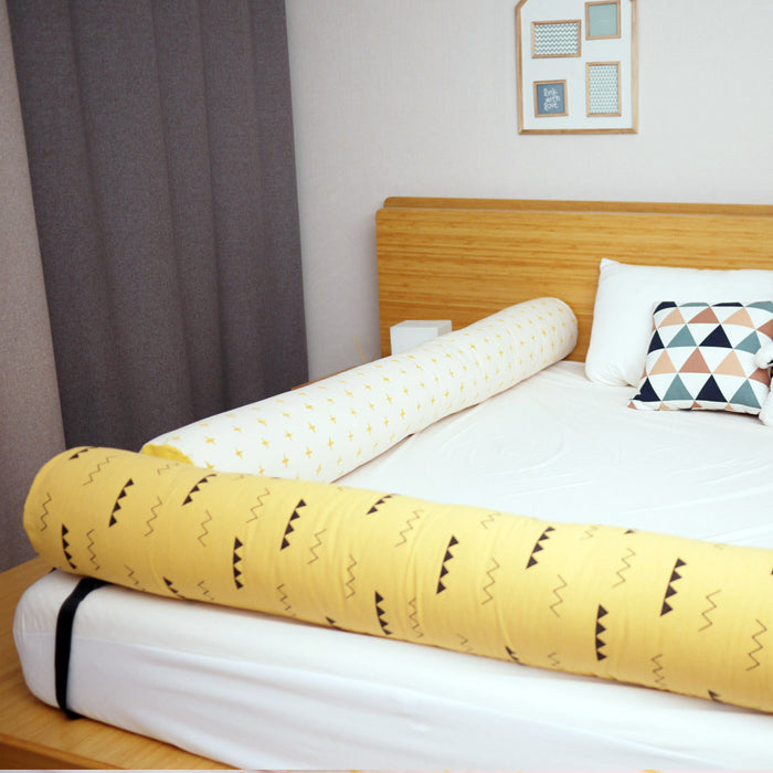 Bed Rail Prevent children falling Bumper Cushion_Yellow mountain - KANGARURU