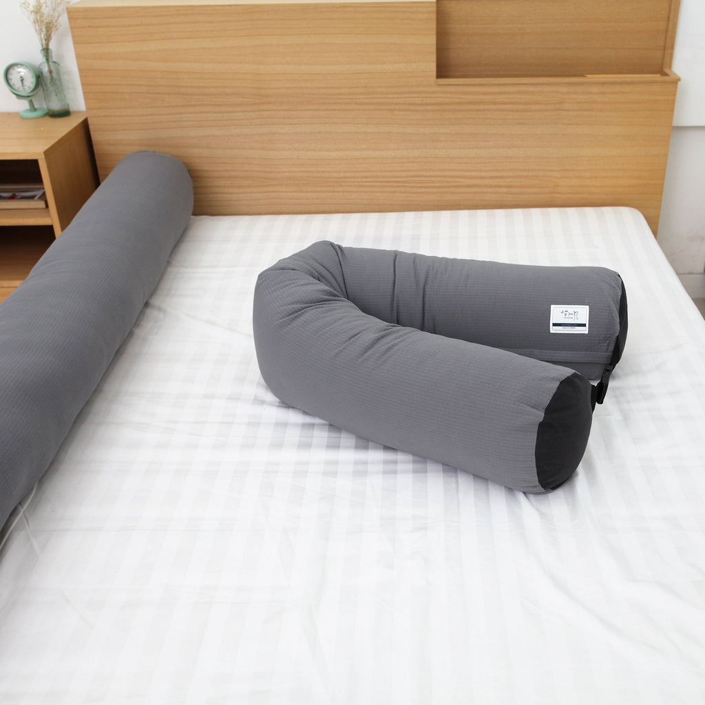 Bed Rail Prevent children falling Bumper Cushion_Solid gray - KANGARURU
