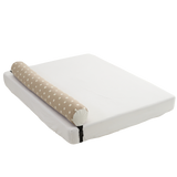 Bed Rail Prevent children falling Bumper Cushion_Square beige - KANGARURU