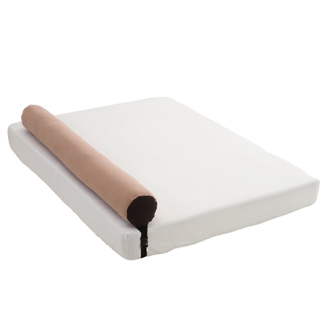 Bed Rail Prevent children falling Bumper Cushion_Solid pink - KANGARURU