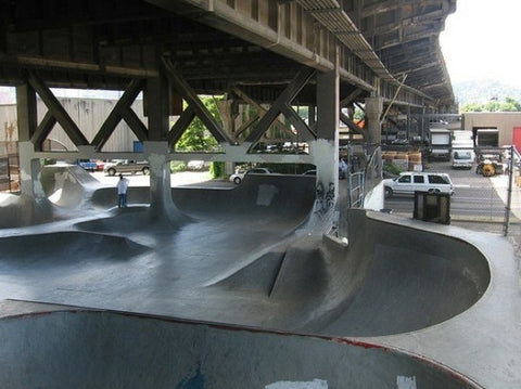 1. Burnside Skate Park, Portland skating on the west coast