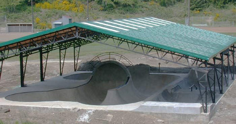 3. Lincoln City Skate Park skateboarding in us