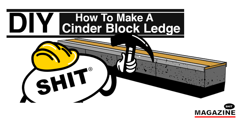 DIY Skate Guide: How To Make a Cinder Block Ledge