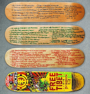 Bucky Lasek and Adam Yauch sold these at a tony hawk auction