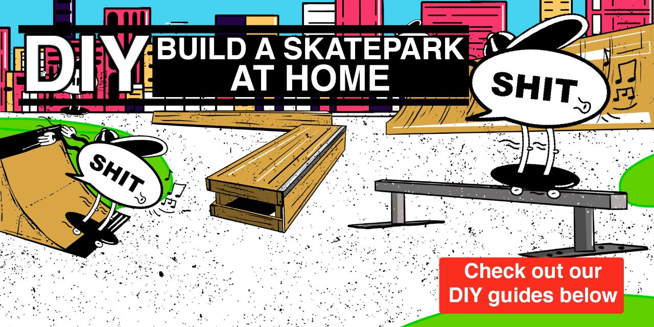 Do It Yourself skateboard ramps at home