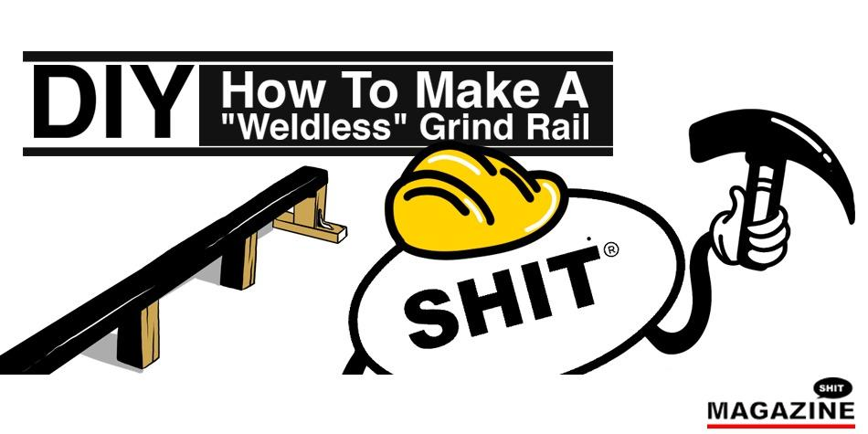 How to make a weldless grind rail for skating