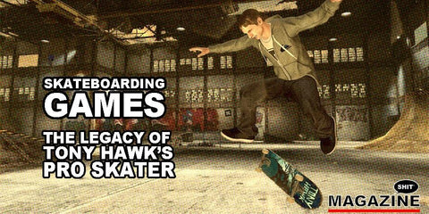 Tony Hawk Pro Skater Old Video Games