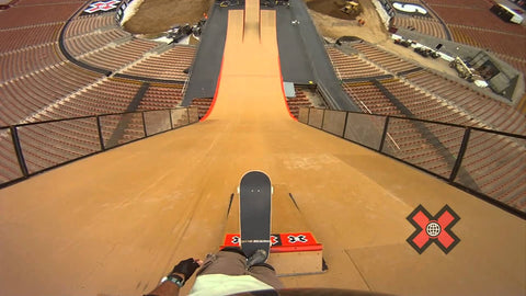 big air x games mega ramp