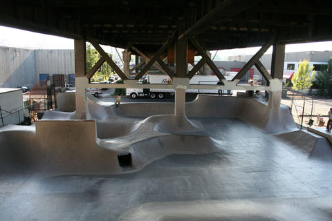 Burnside skatepark portland usa