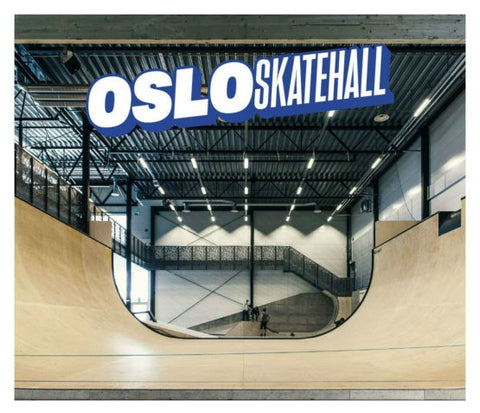 Oslo Skatehall is agreat place for skateboarding
