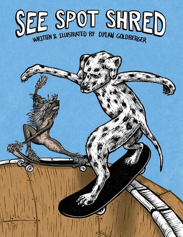 See Spot Shred skateboard book to read
