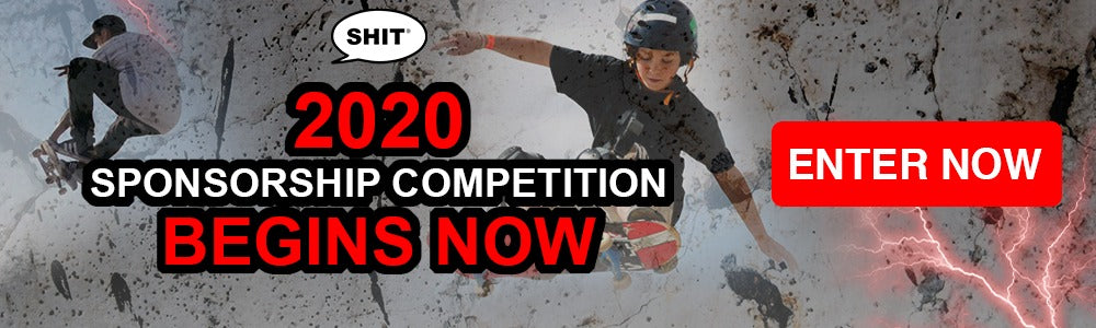 Win a skateboarding sponsorship