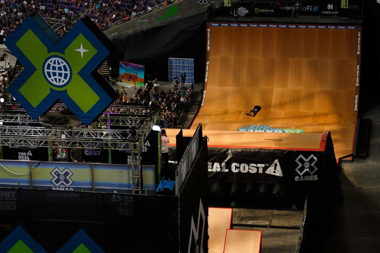 X Games is a competition that includes skateboarding