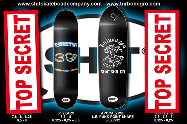 SHIT® X TURBONEGRO APOCALYPSE PUNK POINT DECK