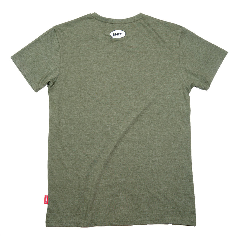 DARK GREEN SHIT® TB T-SHIRT