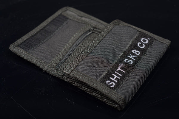SHIT® CLASSIC PERSONS LOGO WALLET (BLACK) - [product_type] - SHIT® SKATEBOARD COMPANY - SHIT® SKATEBOARD COMPANY