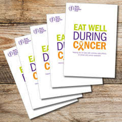 Eat Well During Cancer – health professional bundle