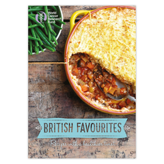 British Favourites cookbook