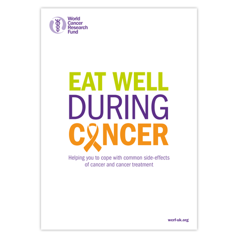 Eat well during cancer