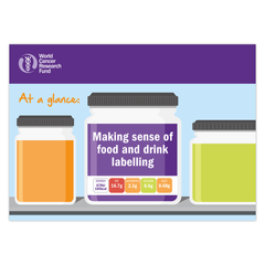 Making sense of food and drink labelling