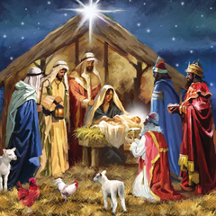 New Born King – pack of 10 Christmas cards