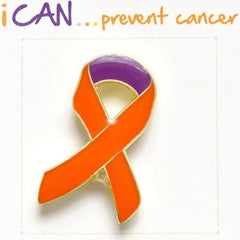 I CAN … prevent cancer pin badge