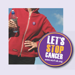 Let's Stop Cancer Pin Badge