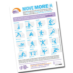 Move More for Life – A2 Poster