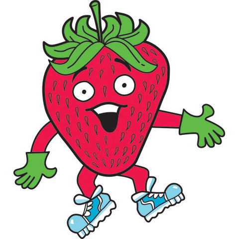 Pip the Strawberry Pin Badge