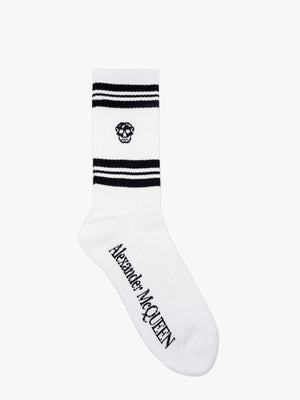SOCKS STRIPE SKULL SPORT