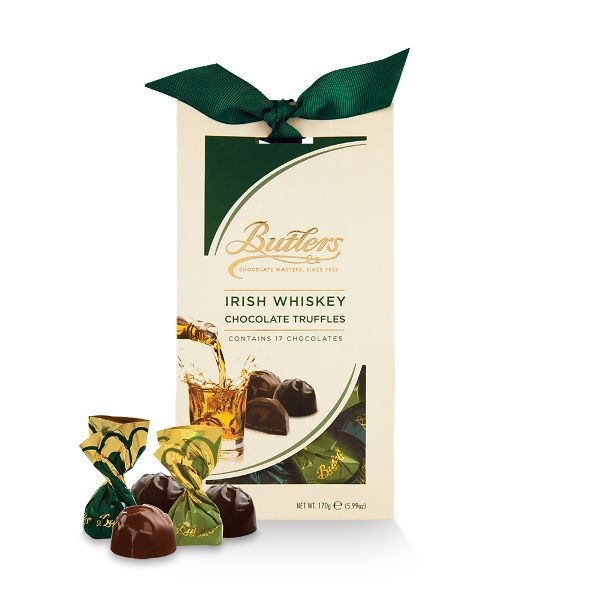 Butlers whiskey flavoured truffles