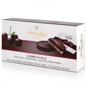 Anton Berg cherry in rum marzipan