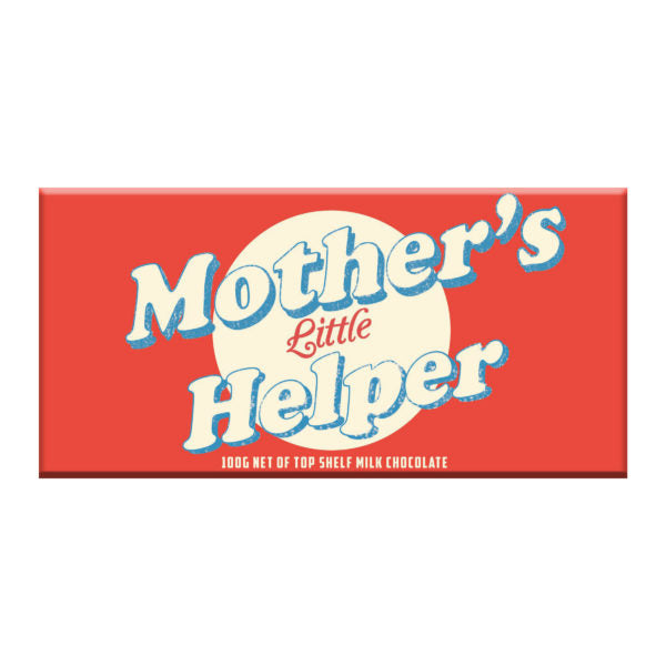 Mothers little helper chocolate bar