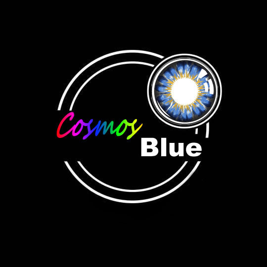 EyeMi® Cosmos 1-Year Blue Colored Contact Lenses