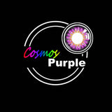 EyeMi® Cosmos 1-Year Purple Colored Contact Lenses