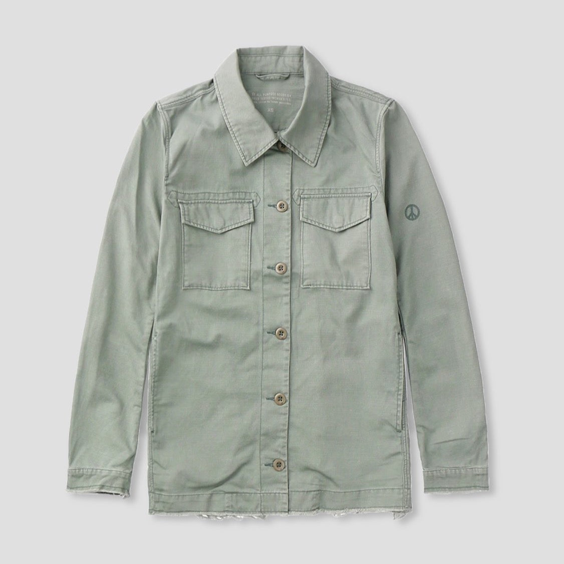 Peace Shirt Jacket