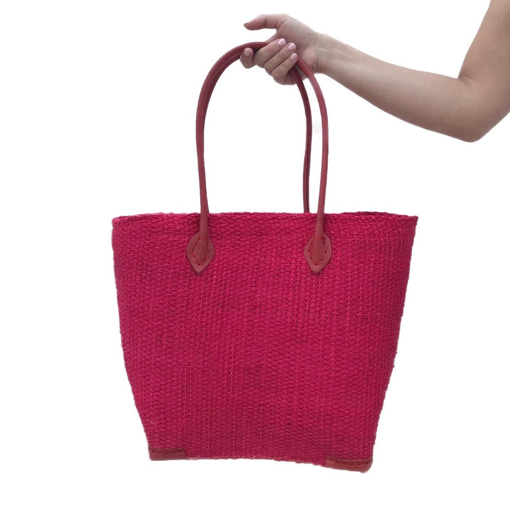 Raffia Palm Beach Bag