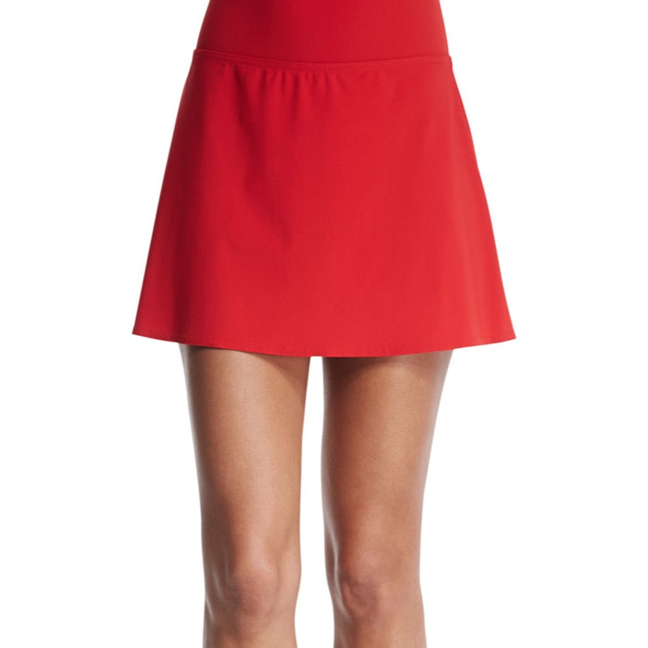 Karla Colletto Flared Swim Skirt