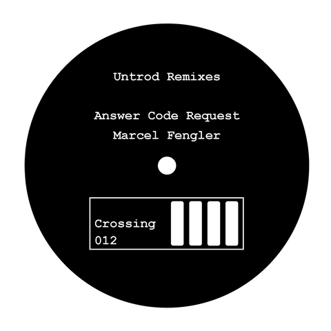 AVION - Untrod Remixes (ANSWERR CODE REQUEST & MARCEL FENGLER) 12""
