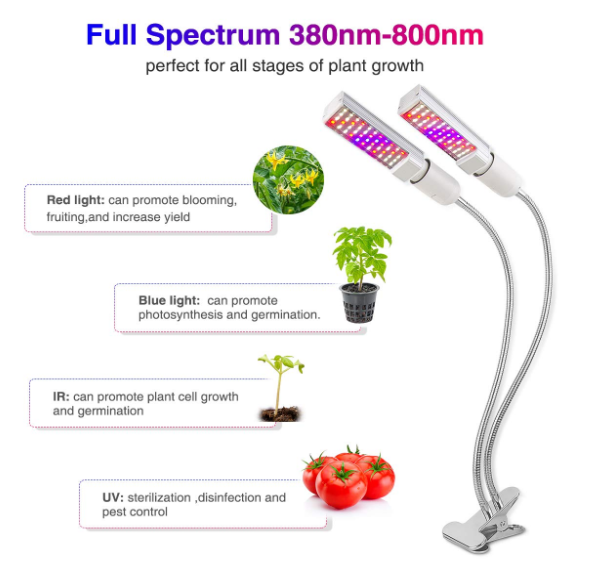 45w LED Grow Lights for Indoor Plants