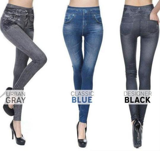 SUPERMI™Super Stretchy Slimming Jeans Leggings【68% OFF】