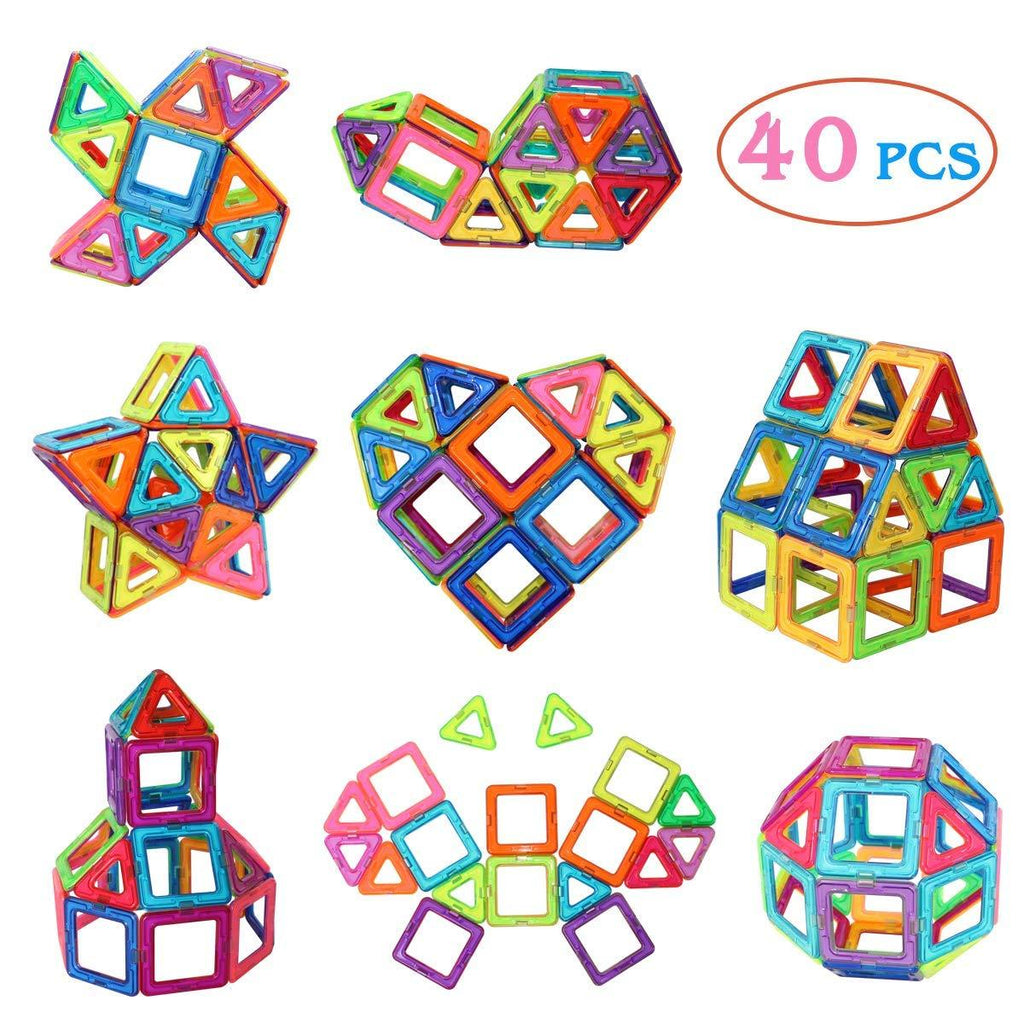 Magnetic Tiles Building Blocks Toys【70% OFF ONLY TODAY】