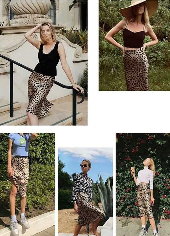NEW ARRIVAL Ultra-Leopard Midi Skirt(buy2 free shipping+60%off)