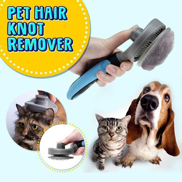 50% OFF TODAY ONLY - Self-Cleaning Pet Hair Remove Brush