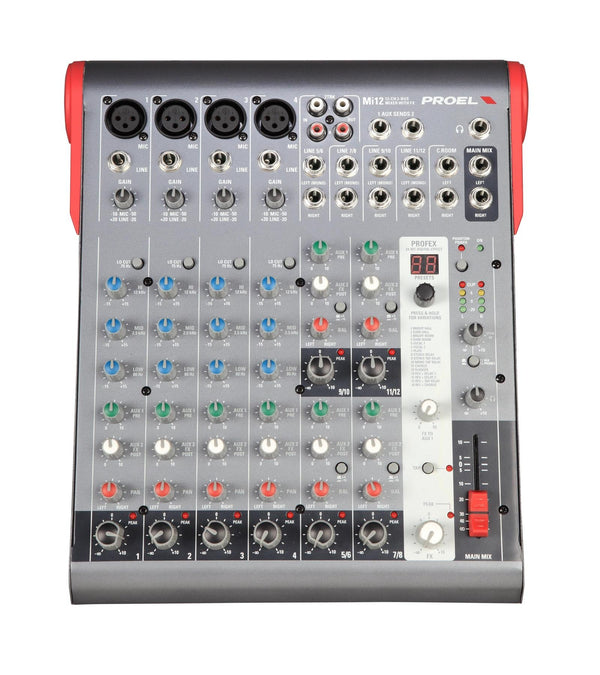 Proel MI12 12 Channel Mixer